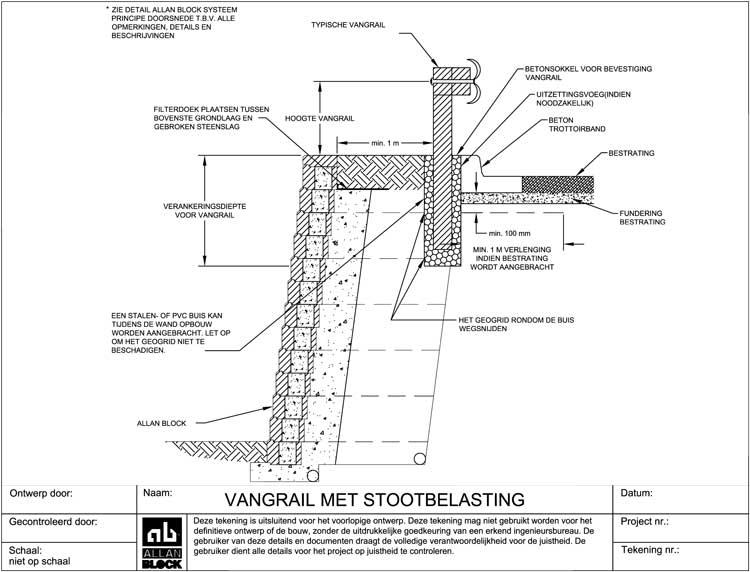 Allan block ontwerp details - Ontwerp betonnen trap ...